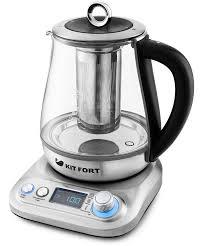 Обзор <b>электрического чайника Kitfort</b> KT-646 с фильтром для ...