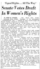 equal rights amendment pictures posters news and videos on  equal rights amendment picture mobile register newspaper 0322