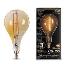 <b>Лампа</b> светодиодная <b>Gauss Led Vintage</b> Filament Flexible ...