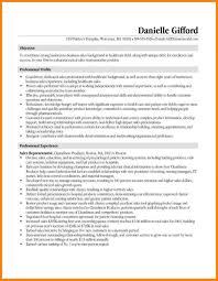 Sales Rep Sample Resume Orthopedic Sales Representative Sample Resume Awesome Rep Template 60 32