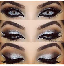 smoky eyes suitable for a night out make up idea