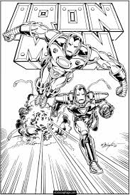 Free Printable Ironman Coloring Pages Free