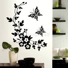 zones bedroom wallpaper: butterflies flowers animals stack wall stickers decal kids adhesive vinyl wallpaper mural baby girl boy room