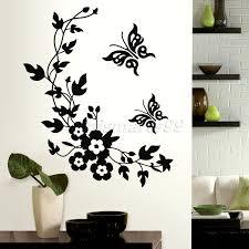 zones bedroom wallpaper: butterflies flowers animals stack wall stickers decal kids adhesive vinyl wallpaper mural baby girl boy room