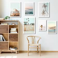 2021 california surf art prints beach