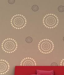 decorze flower wall stencil fs 08