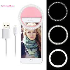 Vòng Đèn Led 36 Bóng Hzn01 Có Thể Sạc Lại Cho Iphone 7 6 Plus 6s 5s Samsung  Sony Lg Htc