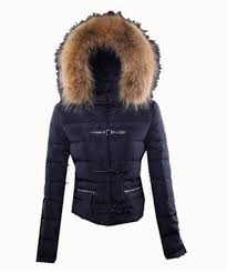 Moncler Crecerelle Down Jacket Dark Blue Womens H5H7