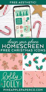 iPhone Christmas Aesthetic Widget and ...