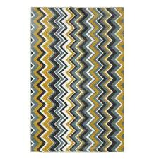 ziggidy yellow 7 ft 6 in x 10 ft area rug