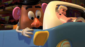 mr potato head toy story 2. Delighful Toy Character Toy Story 2 Before Rex Points Out The Air Duct Mr Potato  Head Devises Plan To Pass Themselves Off As A Pizza Delivery Man And Mr Toy Story 2
