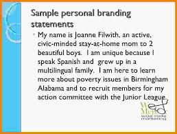 6 personal brand statements examples medical report resume branding  statement examples