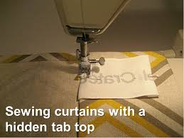 endearing concealed tab curtains decor with sewing curtains with a tab top fiscally chic