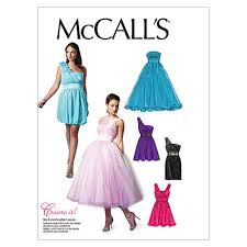 Mc Calls Patterns Extraordinary McCall's Misses' Lined Dresses and Flower Pattern M48 Size AAX