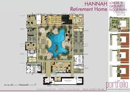 Designing A Retirement Home Hannah Retirement Home By Fesia Prawirya At Coroflot Com