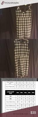 Lindy Bop Size Chart Lindy Bop Vanessa Green Tartan 2x Dress Lindy Bop Vanessa