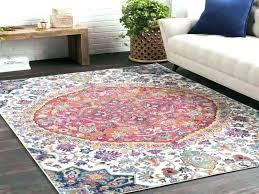 area rugs vintage medallion pink ivory multi rug 2 x 3 target 2x3 red jute