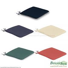 cushioned seat pads for all garden folding chairs