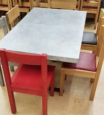 secondhand chairs and tables restaurant or cafe tables with vent covers round oak dining table used