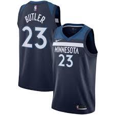 Make Own Merchandise Online 2018 Nike Minnesota Timberwolves 23 Jimmy Merchandise Butler