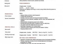 Get 10 Nanny Resume Templates Pdf Doc – Document Manager