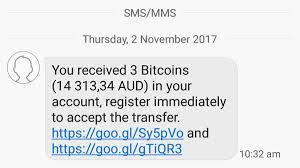 Any bitcoin miner who successfully hashes a block header to a value below the target threshold can add the entire block to the block chain (assuming the these blocks are commonly addressed by their block height—the number of blocks between them and the first bitcoin block (block 0, most. Bitcoin Scam Text Message How Hackers Are Hijacking Your Phone For Profit