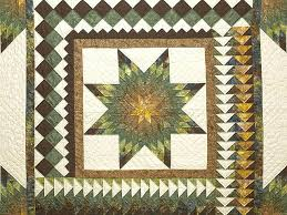 king gold green and brown star quest quilt photo 3 green and brown quilt patterns green