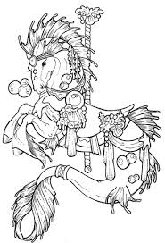 Small Picture Carousel Coloring Pages Carousel coloring pages would make
