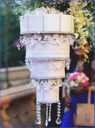 chandelier wedding cake four tier chandelier wedding cake hanging upside down on a stand the cake