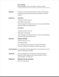 Office Resume Templates Extraordinary Resumes And Cover Letters Office
