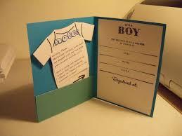 homemade baby shower invitations for boy diy fantastic ideas