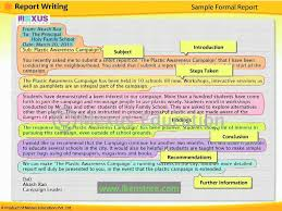 write a report english lesson learn report writing youtube