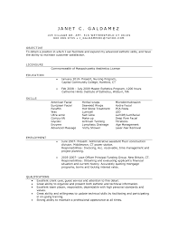 Template Esthetician Resume Example Examples Of Resumes Template