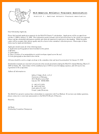 cover letter scholarship  cover letter examples
