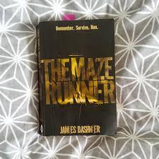 the maze runner novel james dashner