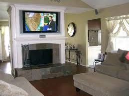 mounting a tv over a fireplace mounting over fireplace unlimited connect over fireplace installation for great mounting a tv over a fireplace