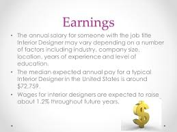 annual salary of an interior designer. Interior Designer By Lexus Lander Nature Of Work An Annual Salary