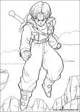Dragon Ball Z Coloring Pages On Coloring Bookinfo