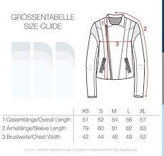 Vero Moda Size Chart Vero Moda Leda Womens Leather Jacket Biker Jacket Real Leather With Biker Collar