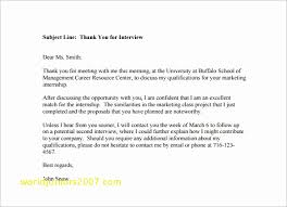 Top Result Awesome Internal Interview Thank You Email Template