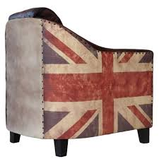 chic union jack chair 138 union jack chair seat pads union jack leather armchair small