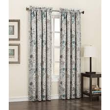 this review is from semi opaque stone abington fl printed room darkening curtain panel 54 in w x 63 in l