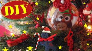 Tutorial: decorazioni natalizie gufetti in stoffa diy