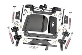 All Chevy 97 chevy k1500 parts : 4in Suspension Lift Kit for 88-98 Chevy / GMC 4wd 1500 Pickup/SUV ...