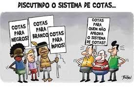 """RACISMO E POLÍTICA DE COTAS: CARA GENTE """"BRANCA"""" RACISM AND QUOTA POLICY:  DEAR """"WHITE"""" PEOPLE"""