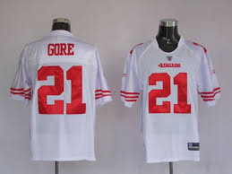 Buy White Cheap Nfl – Frank Gore 21 Team Online Store Jersey Stitched Jerseys Jerseys 49ers