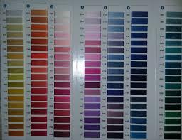 Aurifil Color Card