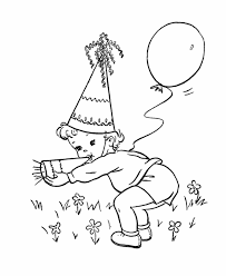 Small Picture Birthday Hat Coloring Page Excellent Blank Party Hat Printable