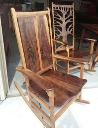 Wood Rocking Chairs Omaha Shotton Woodworks Unique Handmade Handmade