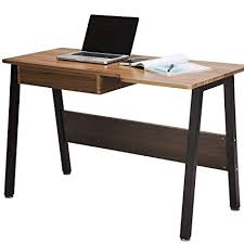 wooden home office. TOPSKY Home Office Desk Stylish Design Wooden Study Dressing Table  With Drawer (OAK Brown Wooden Home Office